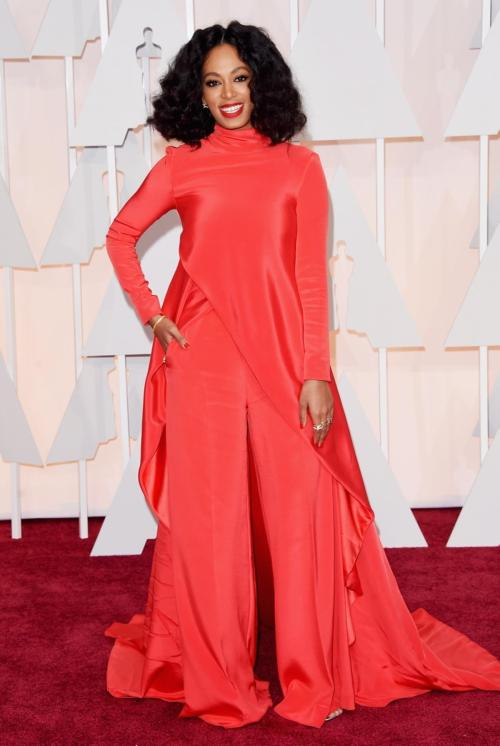 Solange Knowles Oscar Outfit 2015