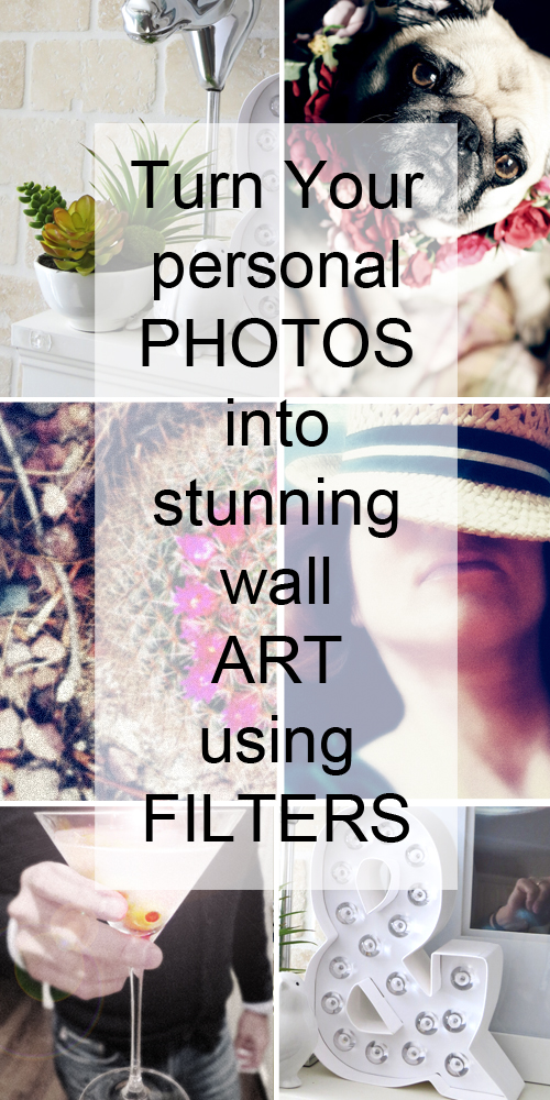 how to turn photos into wall art