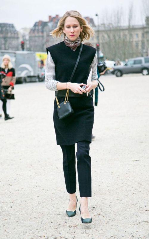 fashion week 2013 skirt over pants