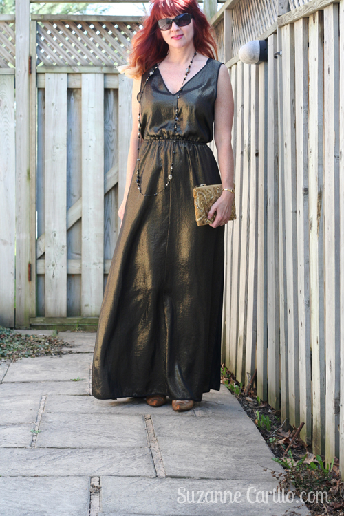 how to wear a maxi dress when you are petite