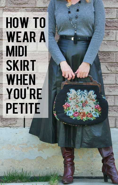 how to wear a midi skirt when you are petite and over 40 suzanne carillo