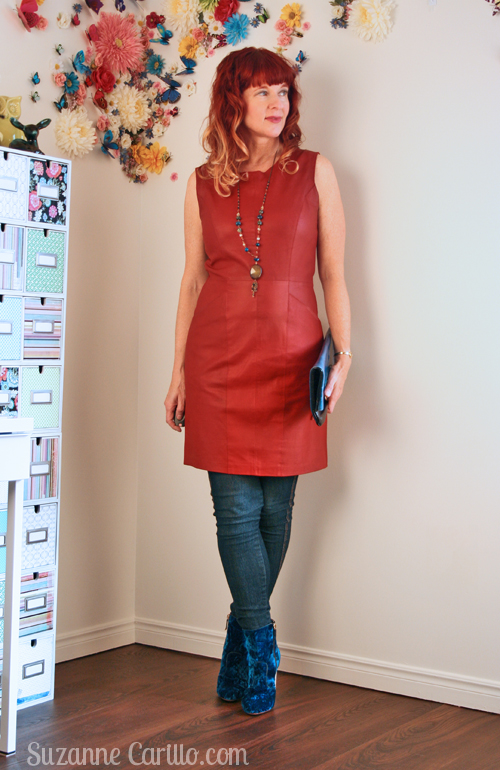 stylish women over 40 how to wear leather over 40