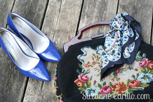 vintage tapestry handbag suzanne carillo