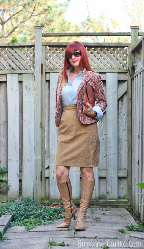how to style and wear paisley over 40 suzanne carillo