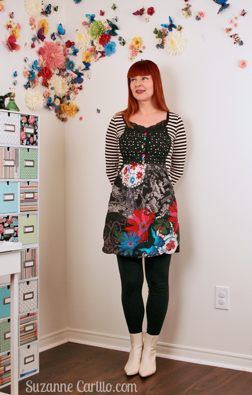 dresses that make you look smaller suzanne carillo