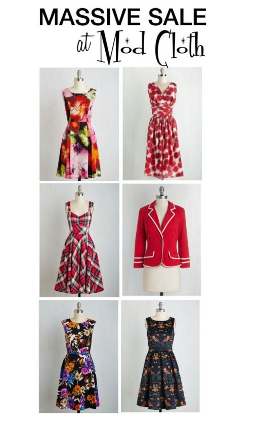 Mod Cloth Sale
