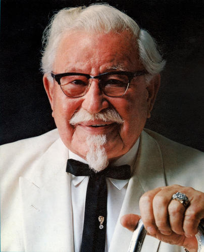 colonel sanders ribbon