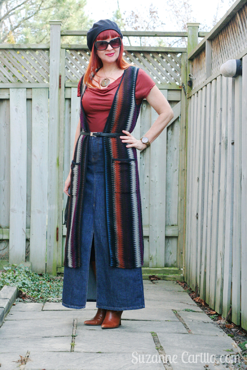 Long vest smart choice for petite women. How to style a long vest over 40 suzanne carillo