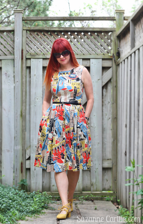 fit and flare dress style for summer from mod cloth emily and fin suzanne carillo style for women over 40