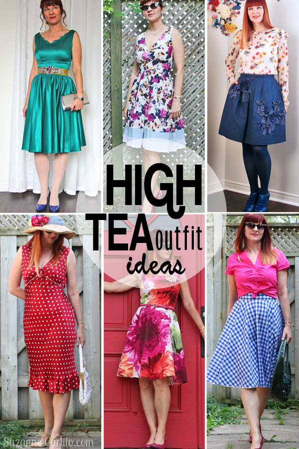 Outfit Ideas For High Tea Suzanne Carillo