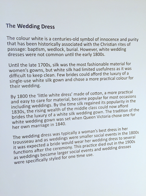 history of the wedding dress cambridge fashion history museum