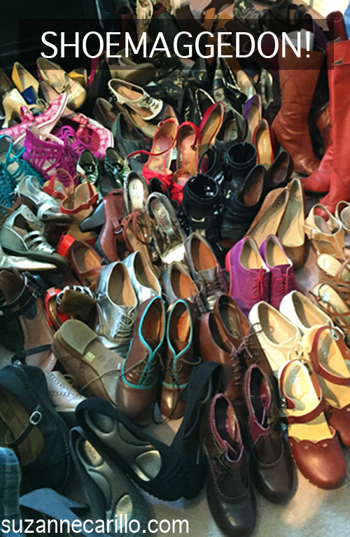 shoemaggedon help I have too many shoes