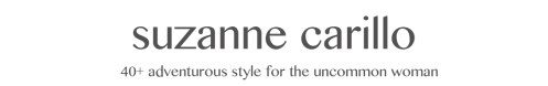 Suzanne Carillo 40+ style for the uncommon woman
