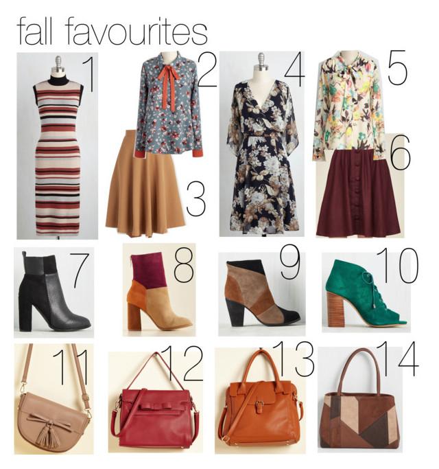 fall fashion favourites modcloth