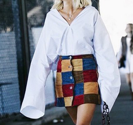 Oversized sleeves impractical fashion trend