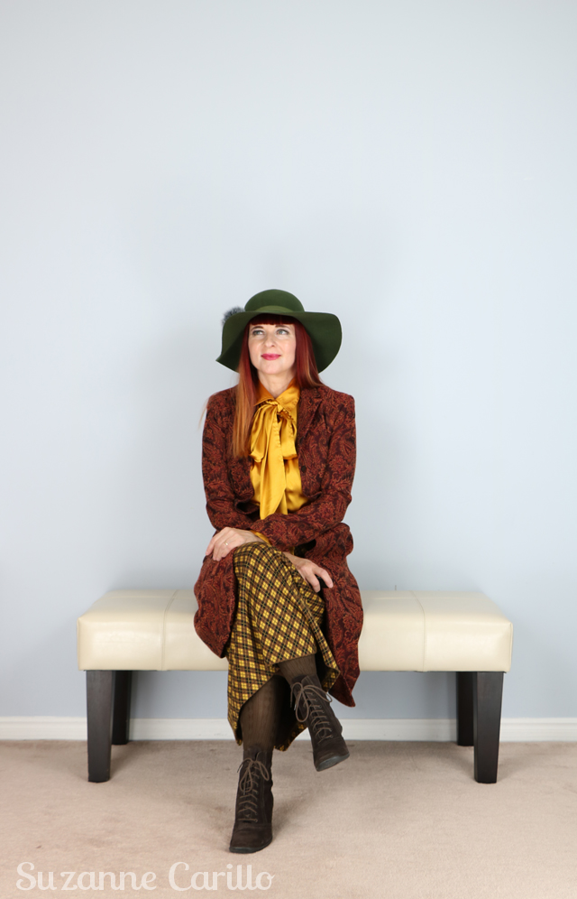 dress vintage inspired over 40 suzanne carillo
