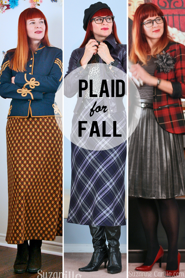 Plaid statement piece for fall