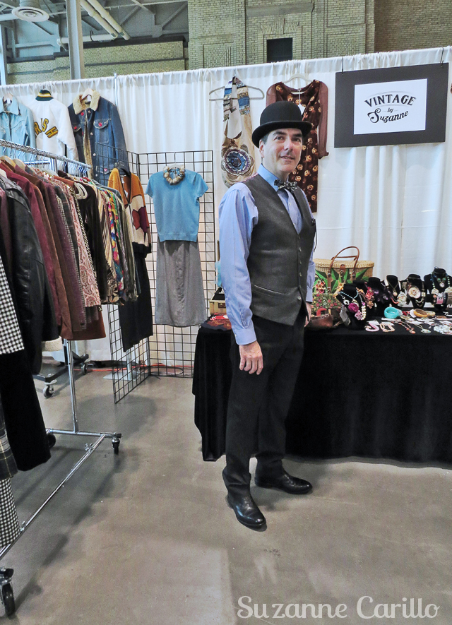Robert men's vintage style toronto vintage clothing show 2016 vintage by suzanne