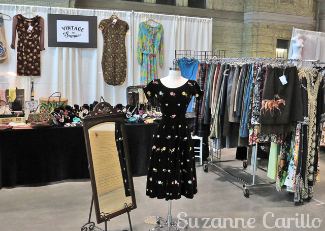 vintage clothing show Toronto 2016 vintage by Suzanne booth