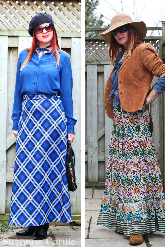 how to wear a maxi skirt for fall suzanne carillo style for women over 40