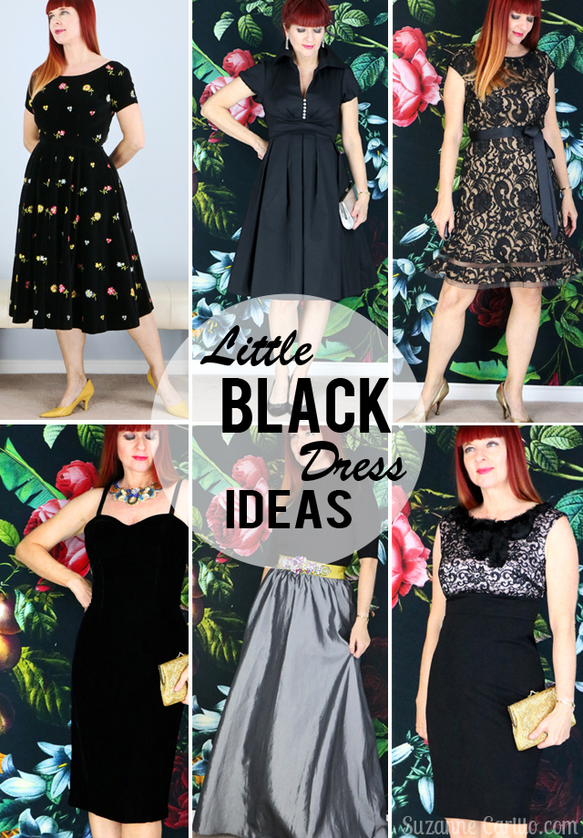 Little Black Dress Ideas For the holiday season