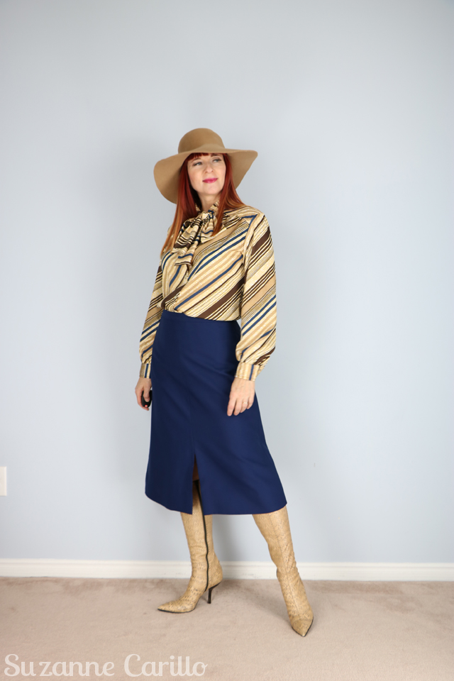 vintage style for women over 40 suzanne carillo