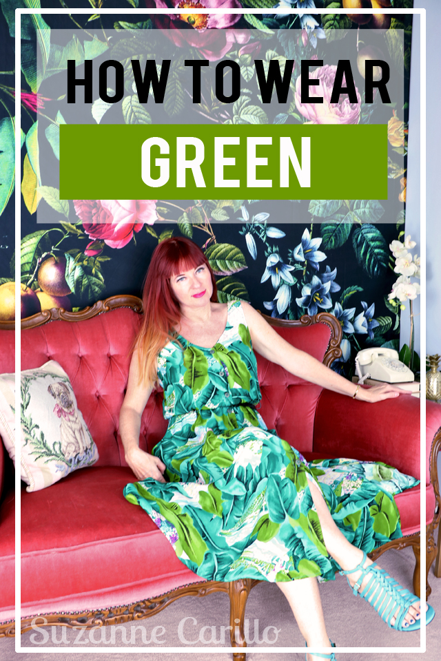 how to wear green pantone colour of the year 2017 suzanne carillo