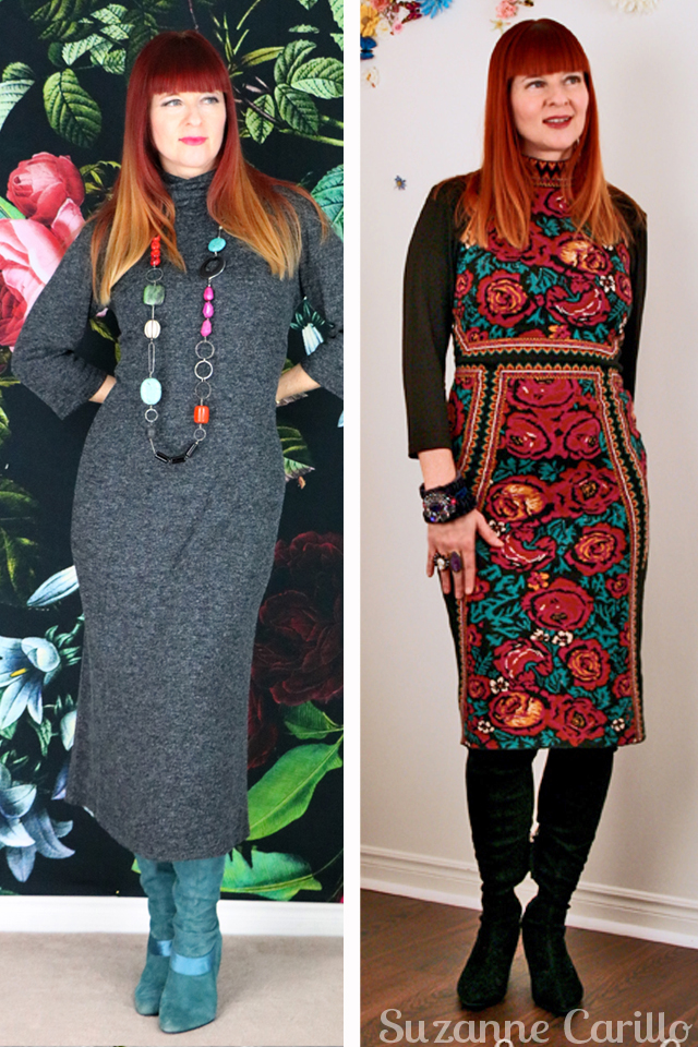 how to dress comfortably withtout surrendering style sweater dress