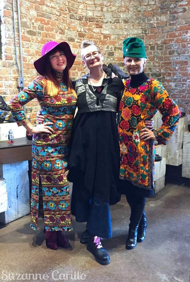 over 50 blogger meet up suzanne carillo shelley forest city fashionista judith style crone