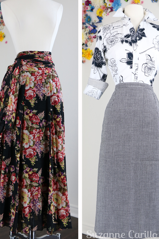 vintage boho floral wrap skirt vintage check skirt for sale buy now online
