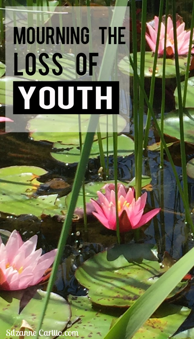mourning the loss of youth advice on aging