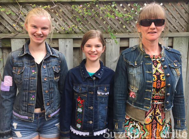 wearable art jean jackets suzanne carillo