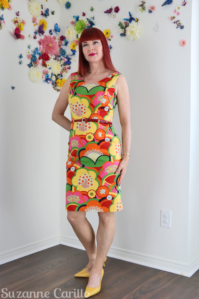 fun for sale - my recipe for fun - buy david meister floral dress online suzanne carillo style for women over 50