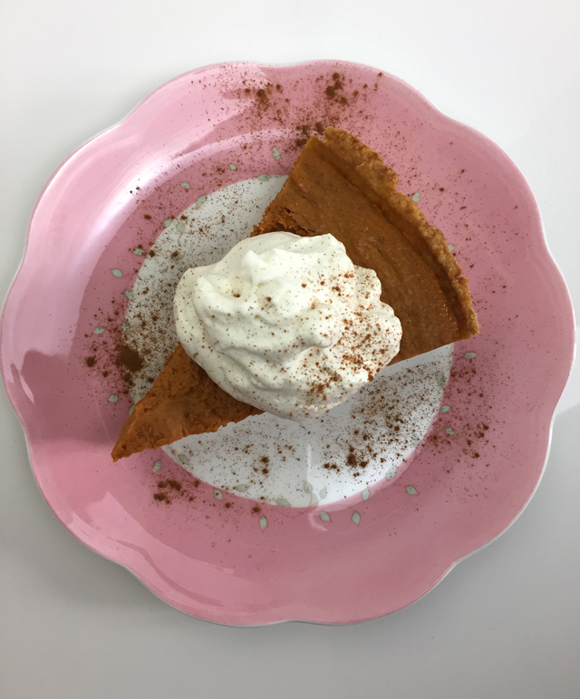 pumpkin pie oct 8 2017