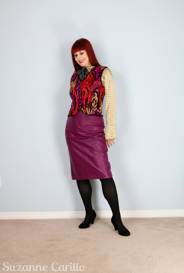 DIY thrifted vintage Gucci inspired look. Create a gucci look with thrifted clothes suzanne carillo