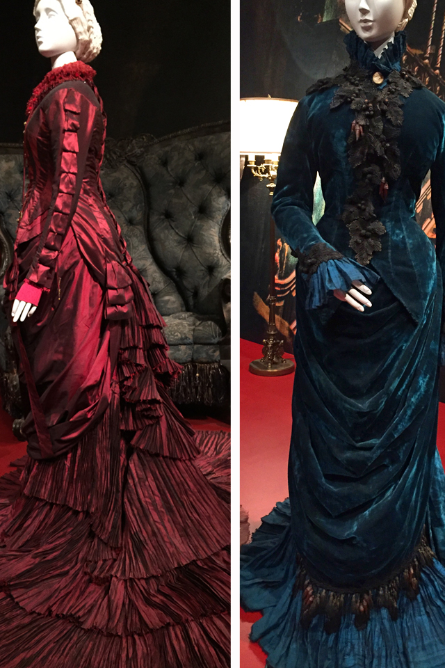 victorian dresses from crimson peak movie