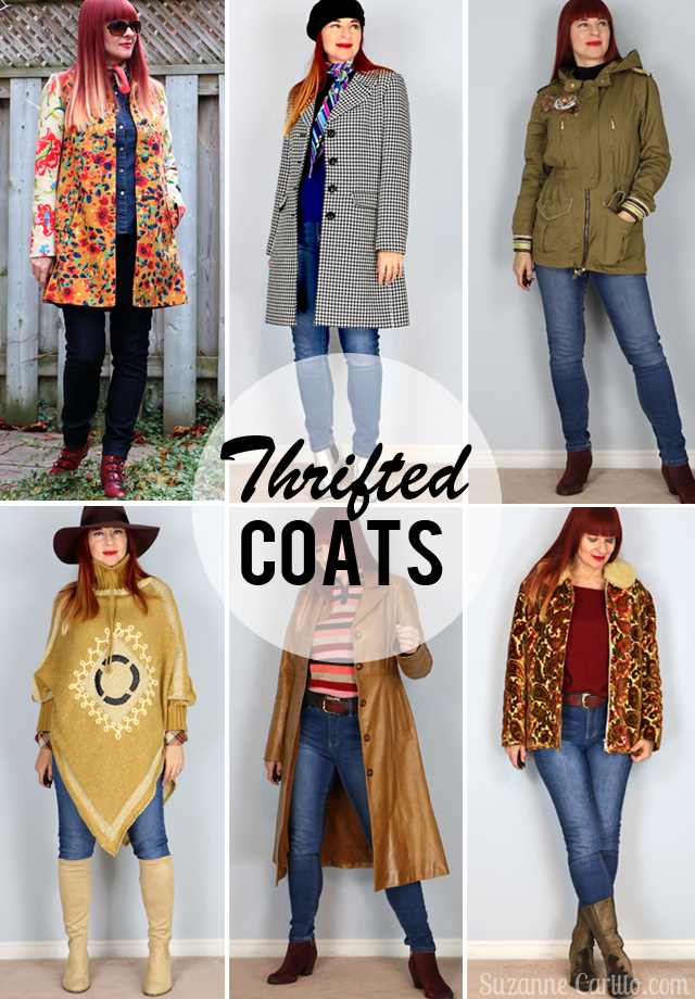 thrifted coats style for women over 40 suzanne carillo