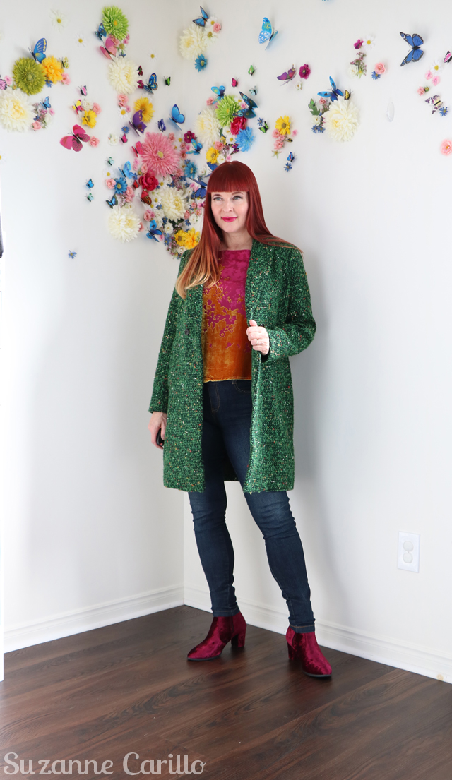 Skinny jeans forever. How to wear green suzanne carillo