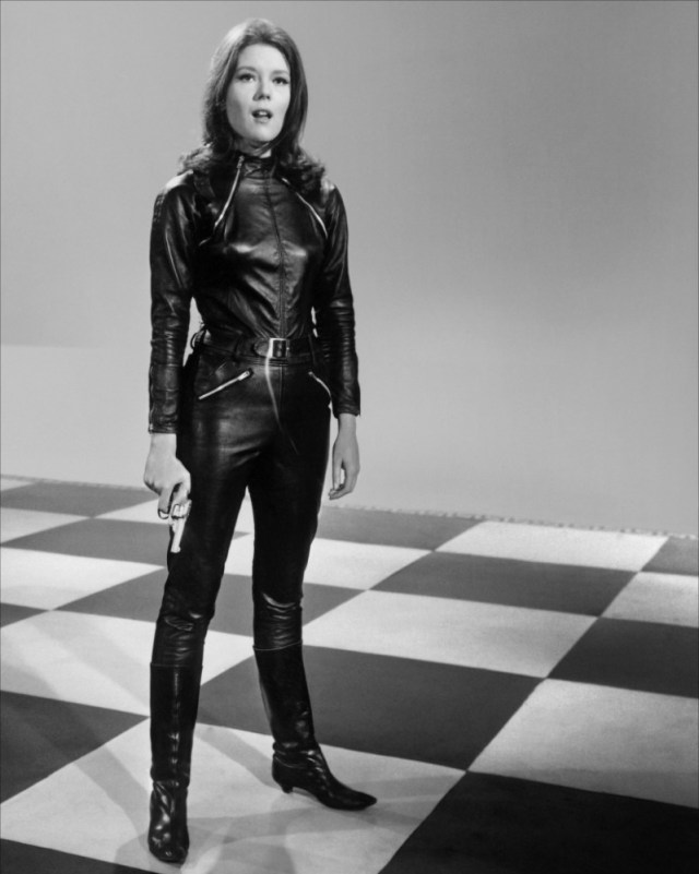 Catsuit Power of Emma Peel Leather Catsuit