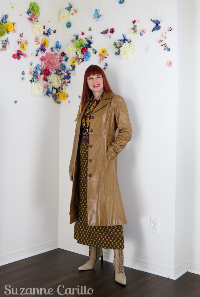 The one constant in life is change. How to wear vintage clothing over 50 suzanne carillo
