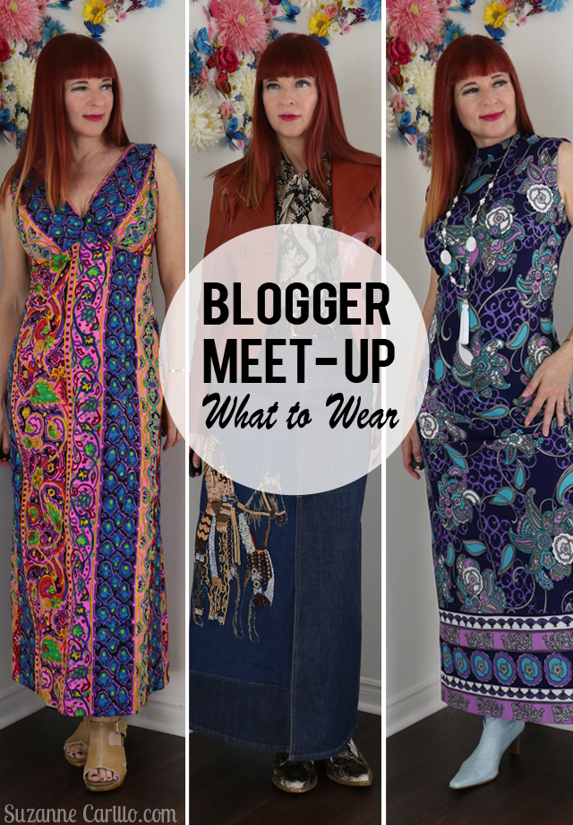 blogger meet up what to wear