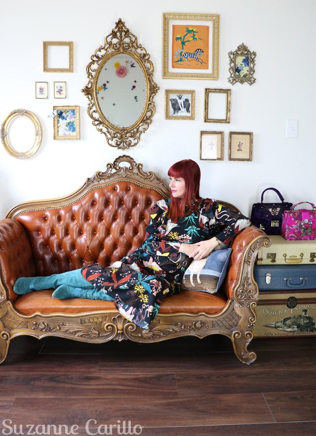 h&m dress suzanne carillo style over 40