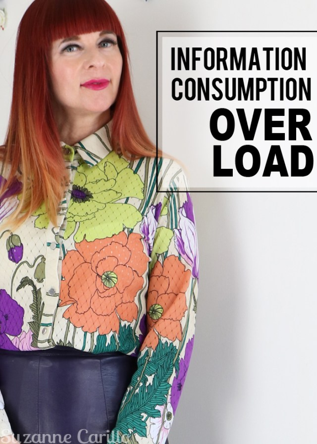 information consumption overload