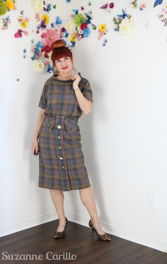 wear vintage over 50 suzanne carillo style