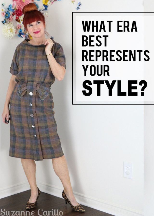 which era or fashion best represents your personal style? suzanne carillo