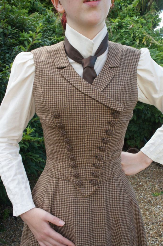 Victorian riding outfit