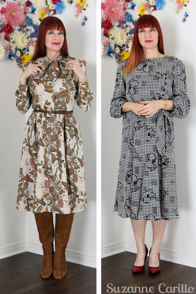 two vintage dresses for sale suzanne carillo vintagebysuzanne on etsy
