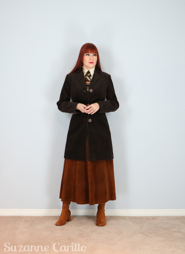 vintage menswear style for women style over 40 suzanne carillo
