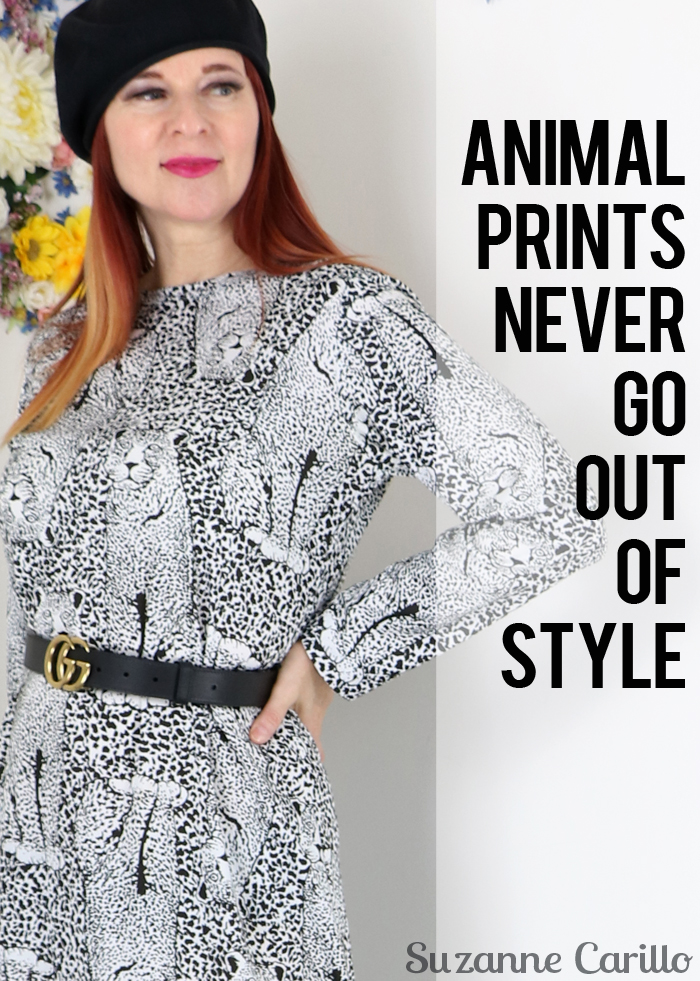 animal prints never go out of style