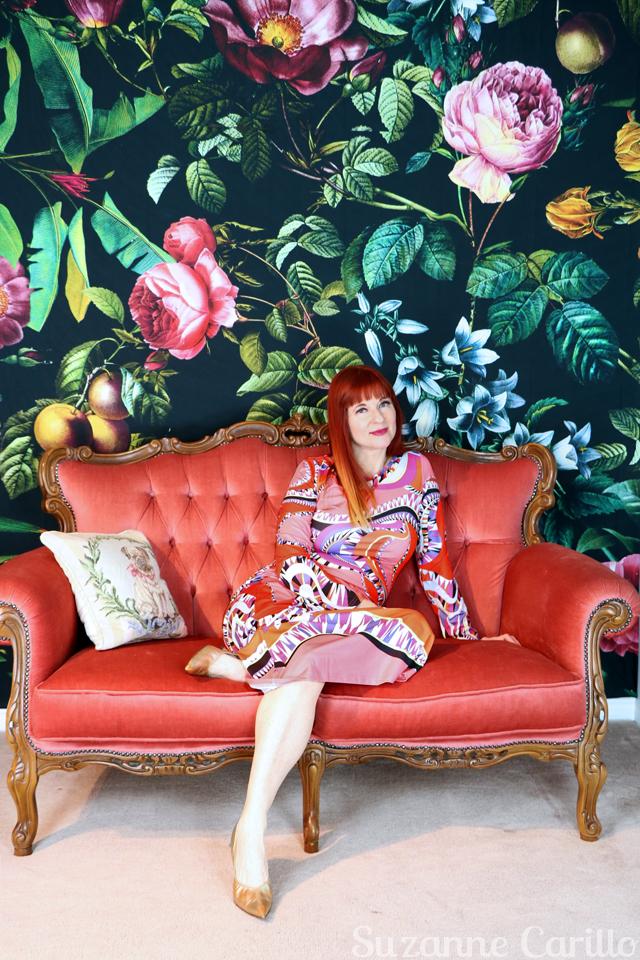 pucci designer dress for sale suzanne carillo style